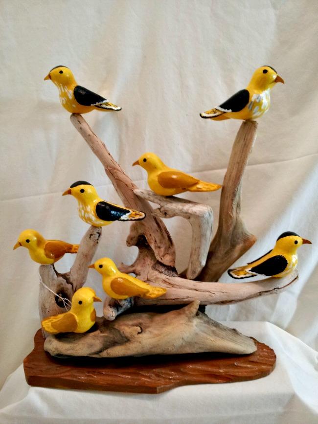 Charlie Poirier. Cheticamp, Nova Scotia. A Flow of Birds.