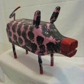 Black and Pink Pig - J.M.Poirier