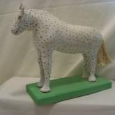 Spotted White Horse Henri Lajeunesse Jolliette, P.Q.