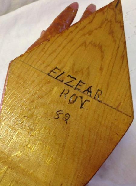 Elzear Roy. His Mark.