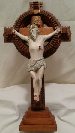 Crucifix by Arthur Sauve Maxville Ontario