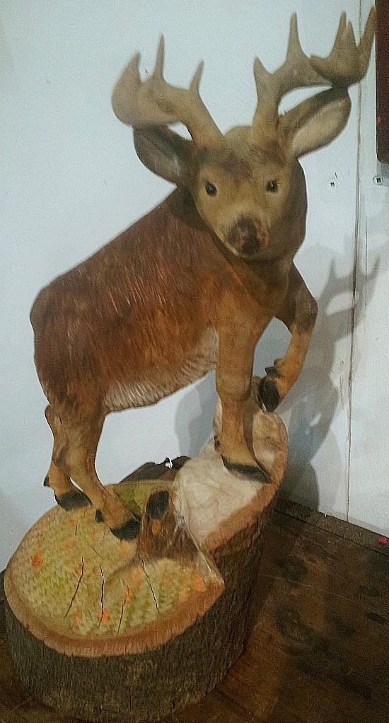 Albert Demers. Sculptor. Wood carver. Quebec. 2