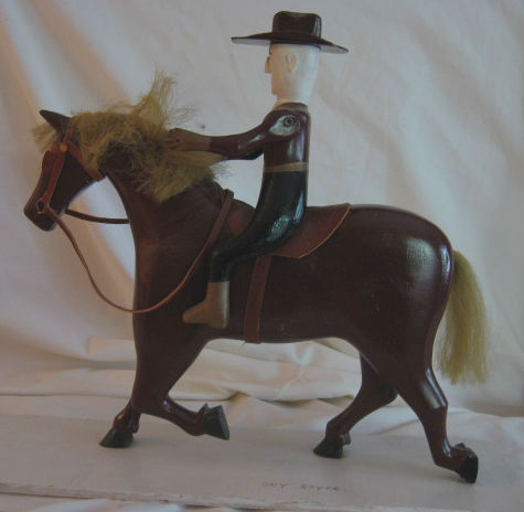 Ernest Belaire Man on Horseback.