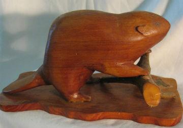 Beaver by Ernest Boucher