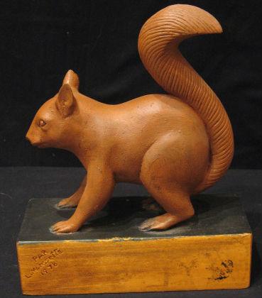 L. Morrisette Squirrel. 1978.