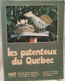 Les Patenteux du Quebec Book