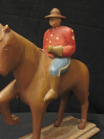 Mounty by Wes Weagle. Detail.
