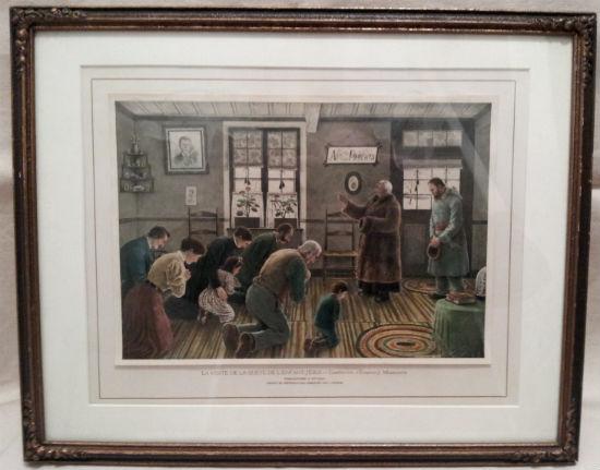 Edmond Masicotte. La Visite de la Quete de L'Enfant-Jesus. 1914.