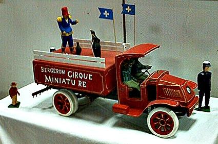 Gaston Bergeron. A Circus Truck on Parade.