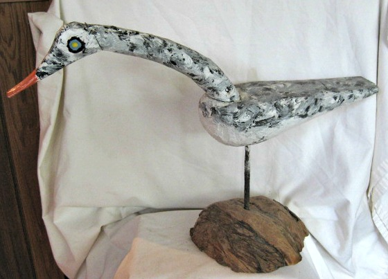 Prudent Vianneau. Tabusintac, New Brunswick. Seagull. About 24 inches long.