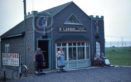 Rene Lavoie. The shop in Sainte-Anne-de-Beaupre, Quebec.