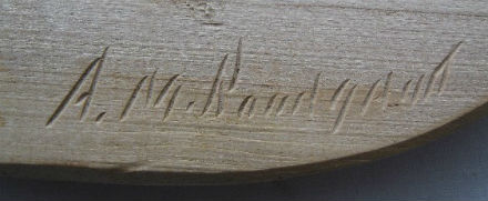 Signature of A. M. Bourgault. 400