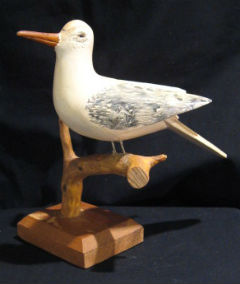 Seagull by William McLelland, Ward's Brook, Nova Scotia.