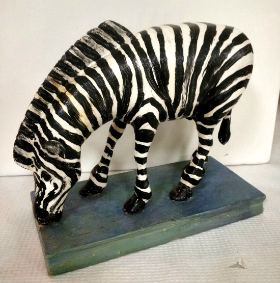 Wilfrid Richard. Carving of a Zebra.