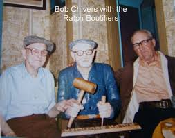 Bob Chivers with the Bouthilier Brothers. 1980's