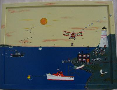 Patrick Melanson. Shediac Bridge New Brunswick. 'Air Mail Drop'.
