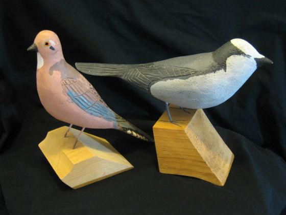 Robert Lavender. Aylesford, Nova Scotia. Two Birds.