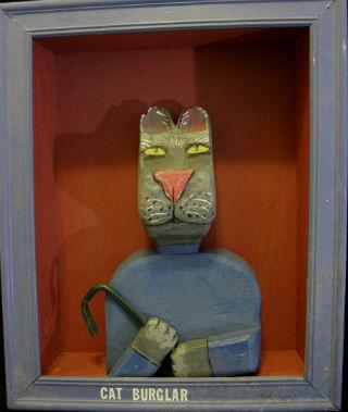 Ted Evans. Amherst Nova Scotia. The Catburgler.