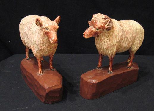 Arthur Bouchard. Sculptor. Baie-Saint-Paul, Quebec.