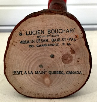 Lucien Bouchard. His mark.