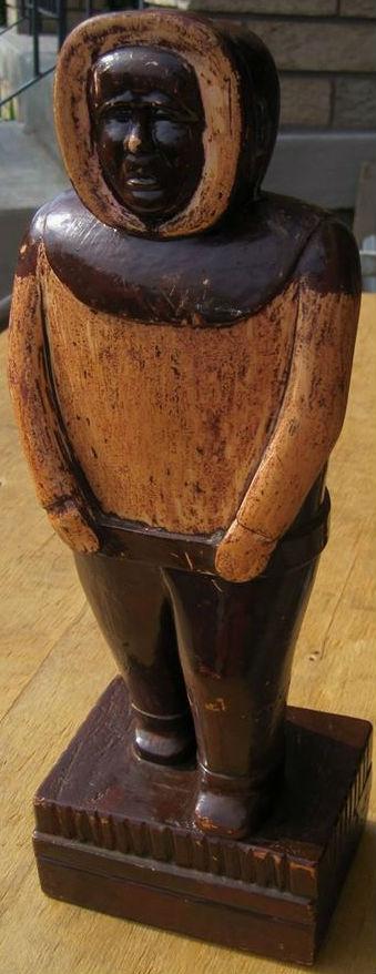 Inuit carving. Armand Lafleur. New Brunswick. Unsigned. 1960's.