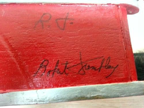 Robert Tremblay. His Mark.
