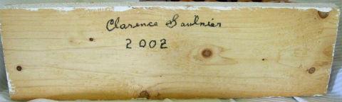 Clarenc Saulnier. LaButte Nova Scotia. His Mark.