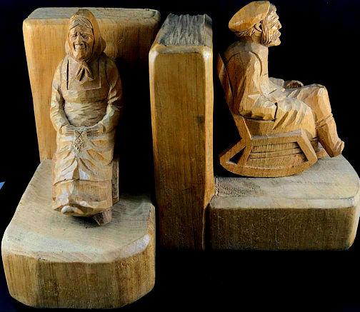 Arthur dube sculptor wood carver saint roch des