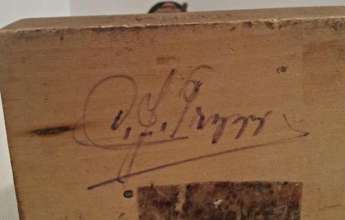 C. J. Trygg. Quebec. His mark.