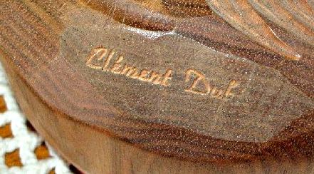 Mark of Clement Dube.