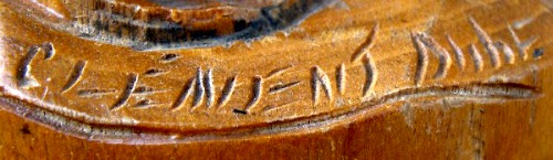The mark of Clement Dube.
