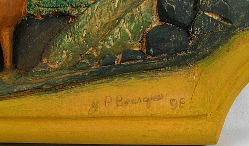 Jean-Paul Bourque. His mark.