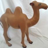 Georges Desmeules. Sculptor. St-Paul-de-la-Croix, Quebec. Camel.
