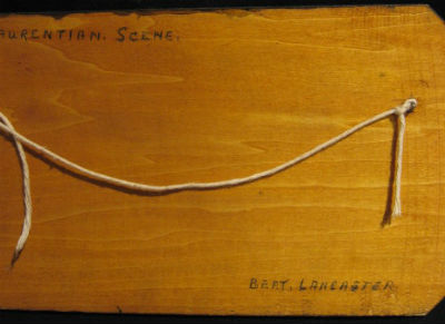 Bert Lancaster. his mark.