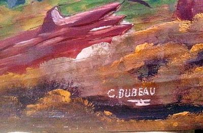 C. Dubeau. Saint-Jovite.His Mark.