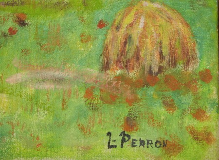 L. Perron. His or her  Mark.