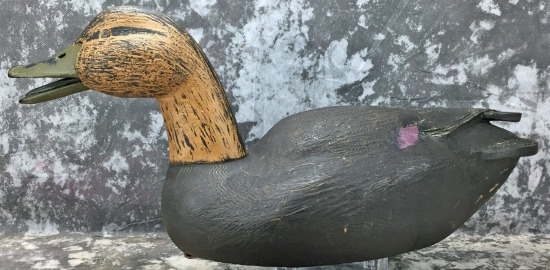 Decoy carving by Jacques Auger. Quebec.