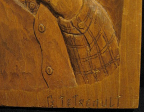 G. Tetreault. Detail of his Mark.