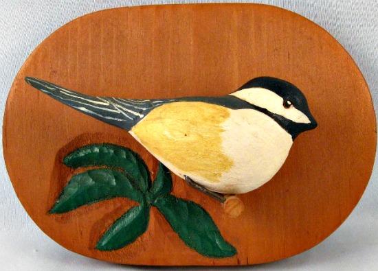 Marcel St. Germain. Sculptor. Woodcarver. Montreal, Quebec. Bird carving.