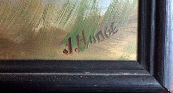 J. Hodge. Nova Scotia. Detail of the mark.