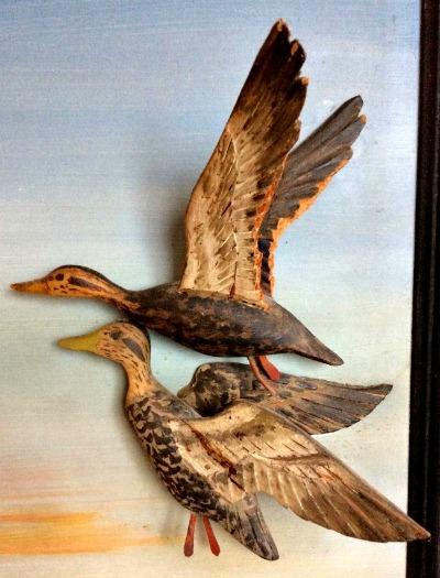 J. Hodge. nova Scotia. Detail of diorama.