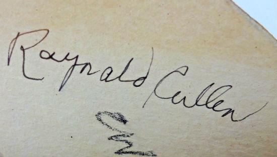 Reynald Cullen. His mark.