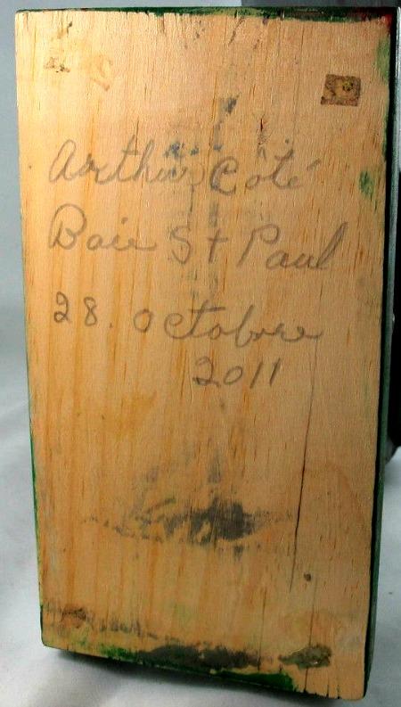 Arthur Cote. His mark.