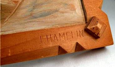 J. Hamelin. His mark.
