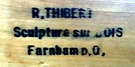 R. Thiberi. Stamp.