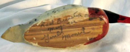 Gerald Monroe. His mark.