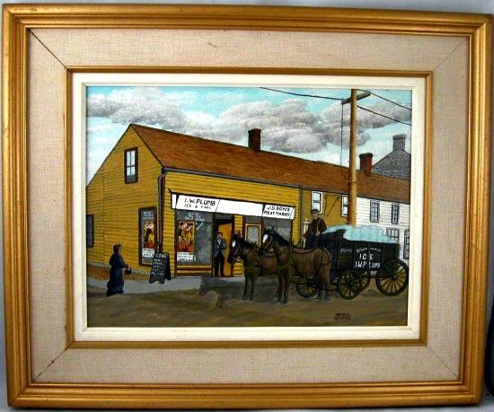 Jamie Fortier. Painter. Prescott, Ontario.