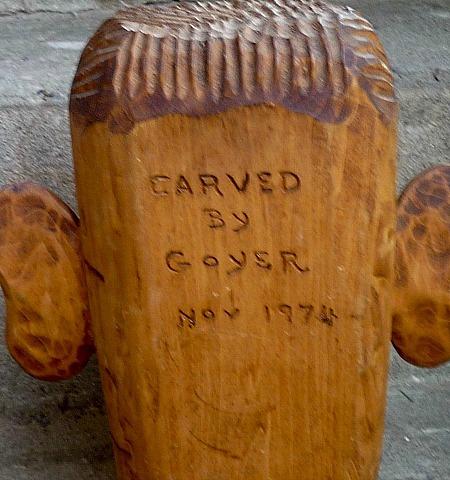 Robert 'Bob' Goyer. His mark.