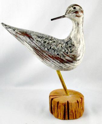 Robert Goyer. Carving of a Shorebird. Dated '98.