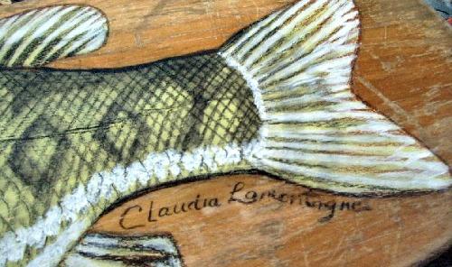 Claudia Lamontagne. Her mark.